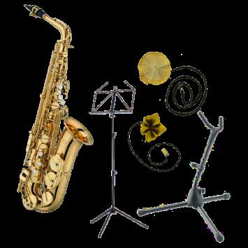 Jupiter JAS701Q Altsaxophon Einsteiger-Set