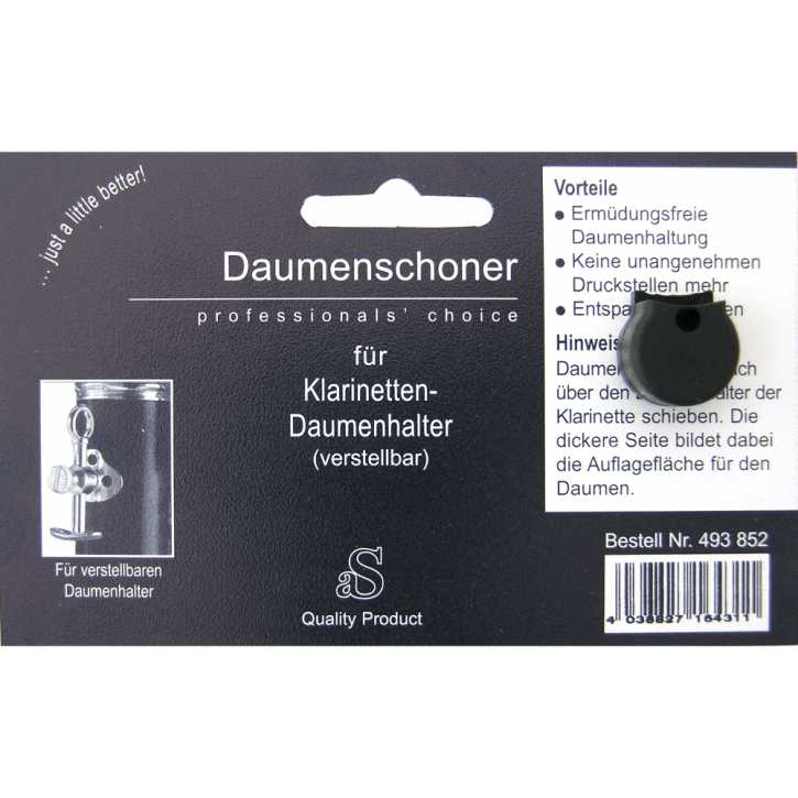 DAUMENSCHONER Klarinette V
