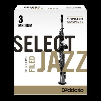 "D'ADDARIO SELECT JAZZ Sopransaxophon ""filed"""