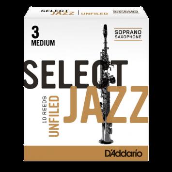 "D'ADDARIO SELECT JAZZ Sopransaxophon 2S ""unfiled"""