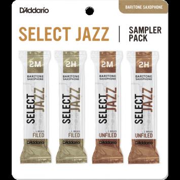 D'ADDARIO SELECT JAZZ Sampler Pack 2M/2H