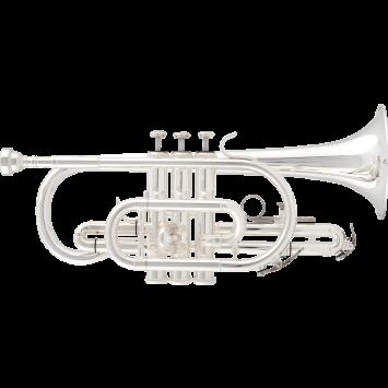 RRB B-Kornett 516-2, versilbert