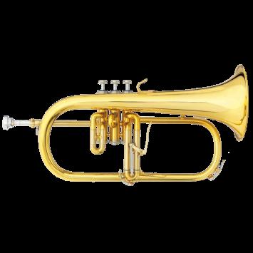 B&S B-Flügelhorn 3146/2-GL