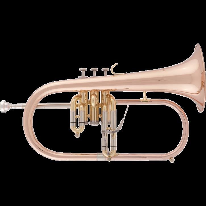 RRB B-Flügelhorn 526-1, Goldmessing