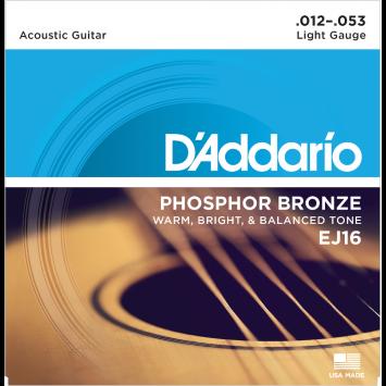 D'Addario Saiten für Akustikgitarre, EJ16