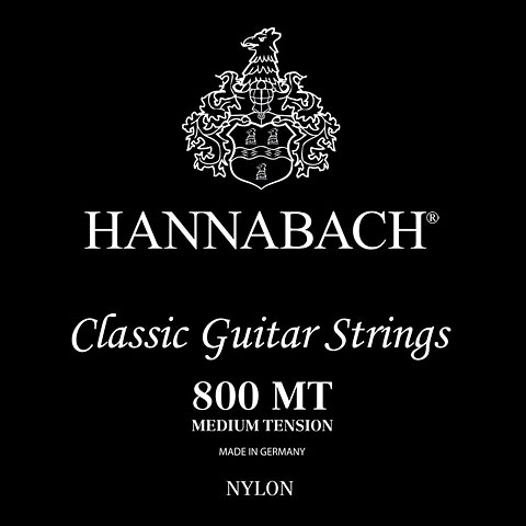 HANNABACH Saiten für Konzertgitarre Nr.800MT