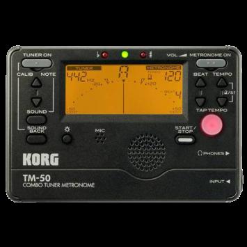 KORG TM-50 Combo Tuner/Metronom