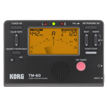 KORG TM-60 Chromatisches Stimmgerät & Metronom