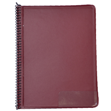 STAR Marsch-Notenmappe 145/10T Rot