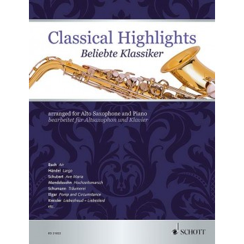 Classical Highlights für Altsaxophon - ED 21822