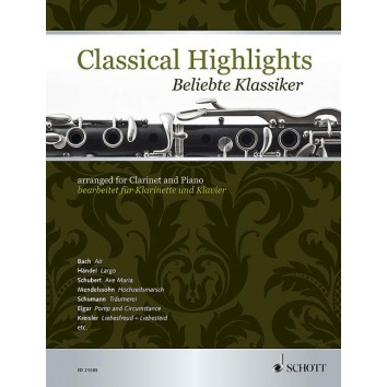 Classical Highlights für Klarinette - ED 21585