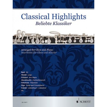 Classical Highlights für Oboe - ED 21877