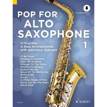 Pop for Alto Saxophone Band 1