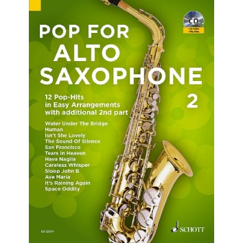 Pop for Alto Saxophone Band 2