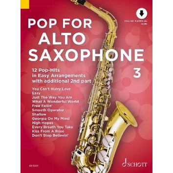 Pop for Alto Saxophone Band 3