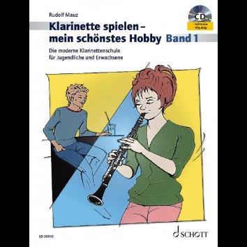 Klarinette spielen - Mein schönstes Hobby Band 1 +CD - ED 20640