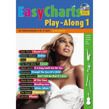 Easy Charts Play-Along Band 1 +CD -  MF 3601
