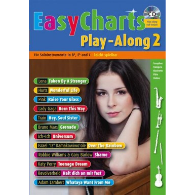 Easy Charts Play-Along Band 2 +CD -  MF 3602