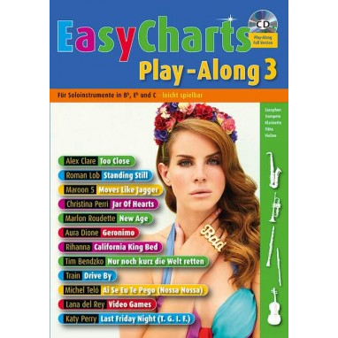 Easy Charts Play-Along Band 3 +CD -  MF 3603