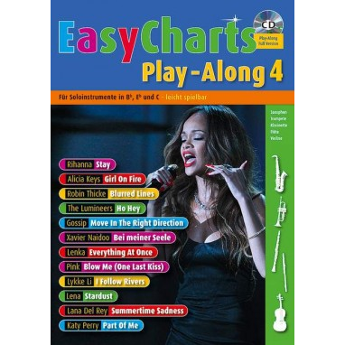 Easy Charts Play-Along Band 4 +CD - MF 3604