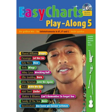 Easy Charts Play-Along Band 5 +CD - MF 3605