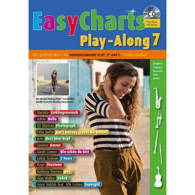Easy Charts Play-Along Band 7 +CD - MF 3607