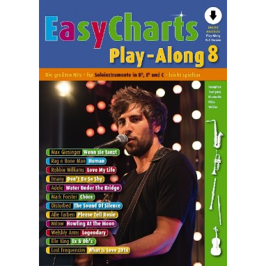 Easy Charts Play-Along Band 8 +CD - MF 3608