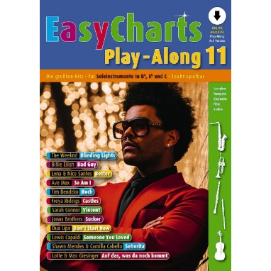 Easy Charts Play-Along Band 11 +Online Material - MF3611