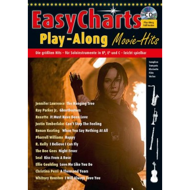 Easy Charts Play Along Band Movie Hits +CD - MF 3699