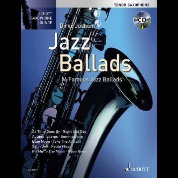 Jazz Ballads für Tenorsaxophon - Schott Saxophone Lounge