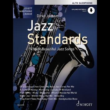 Jazz Standards für Altsaxophon - Schott Saxophone Lounge