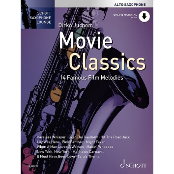 Movie Classics für Altsaxophon - Schott Saxophon Lounge