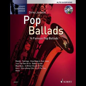 Pop Ballads für Altsaxophon - Schott Saxophone Lounge