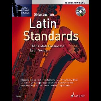 Latin Standards für Tenorsaxophon - Schott Saxophone Lounge