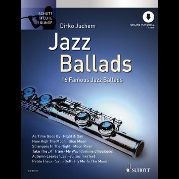 Jazz Ballads für Querflöte - Schott Flute Lounge