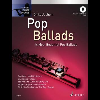 Pop Ballads für Querflöte - Schott Flute Lounge