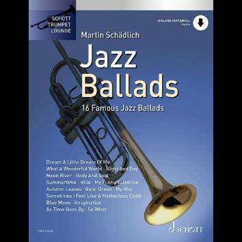Jazz Ballads für Trompete - Schott Trumpet Lounge