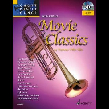 Movie Classics für Trompete - Schott Trumpet Lounge