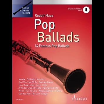Pop Ballads für Klarinette - Schott Clarinet Lounge