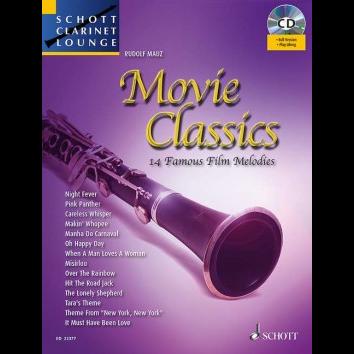 Movie Classics für Klarinette - Schott Clarinet Lounge