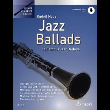 Jazz Ballads für Klarinette - Schott Clarinet Lounge