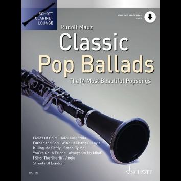 Classic Pop Ballads für Klarinette - Schott Clarinet Lounge