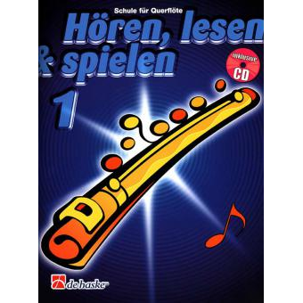 Hören, lesen & spielen Band 1 (+ CD): Querflöte