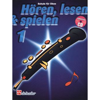 Hören, lesen & spielen Band 1 (+ CD): Oboe