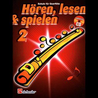 Hören, lesen & spielen Band 2 (+ CD): Querflöte