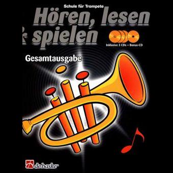 Hören, lesen & spielen Band Gesamtausgabe (+ 4 CD's): Trompete