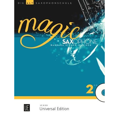 Magic Saxophone Band 2 für Altsaxophon +CD - UE 36003
