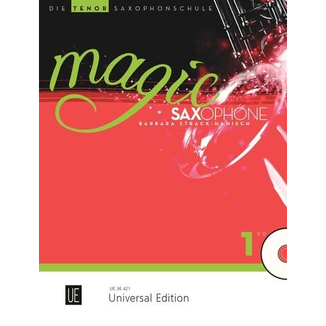 Magic Saxophone Band 1 für Tenorsaxophon + CD - UE 36421