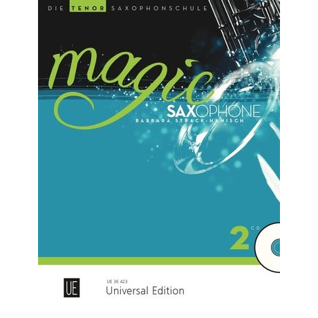 Magic Saxophone Band 2 für Tenorsaxophon +CD - UE 36423