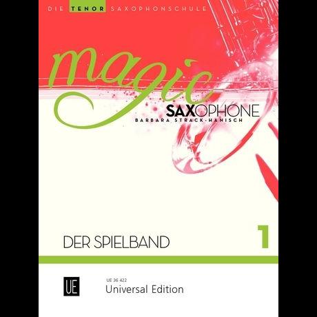 Magic Saxophone Spielbuch 1 für Tenorsaxophon +CD - UE 36422
